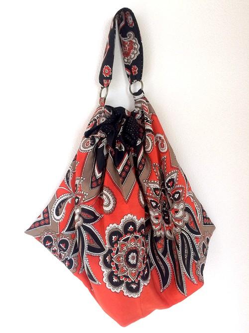 Silk Scarf Bag no.144