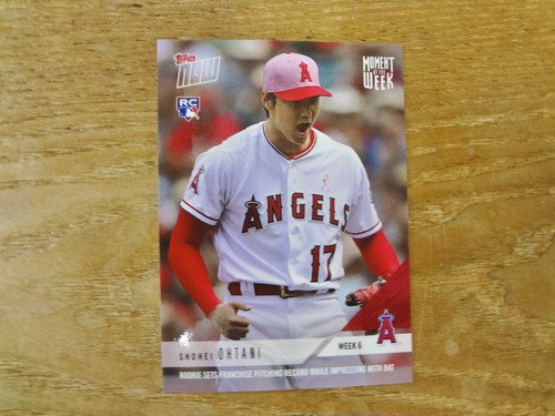 大谷翔平 RC 2018 TOPPS NOW WEEK 6