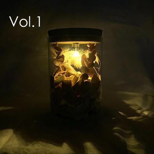 Type D:Aroma Lamp Bottle / (LEDライト付き):交換用LEDライト1個プレゼント
