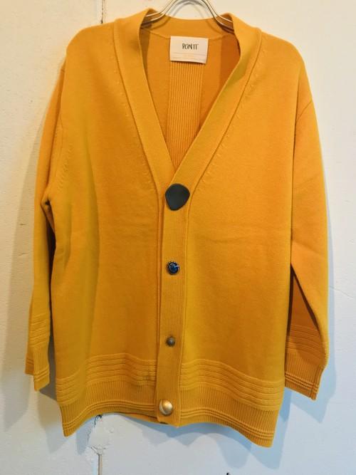 PONTI  cashmere wool cardigan