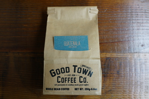 GOOD TOWN COFFEE BEANS  250g 【GOOD TOWN SIGNATURE/Guatemala】 【GOOD TOWN BLEND/Ethiopia & Brazil】