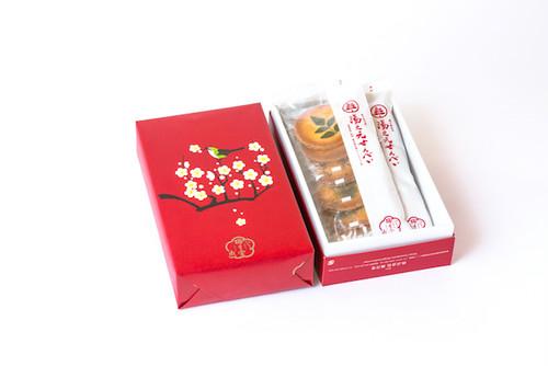 湯之元せんべい 20枚・箱入 (2枚入×10袋)