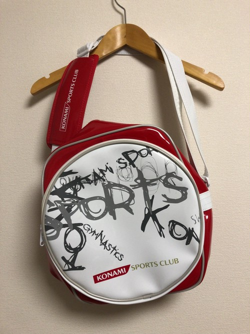 late2000's KONAMI SPORTS CLUB bag