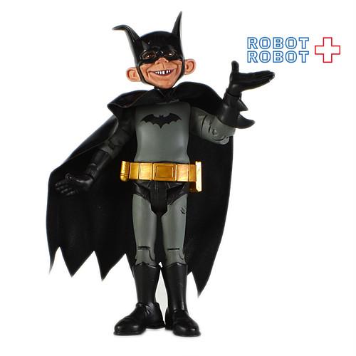 マッドマガジン バットマン 黒 アクションフィギュア