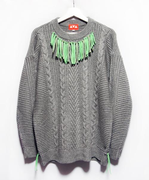 Fringe remake sweater