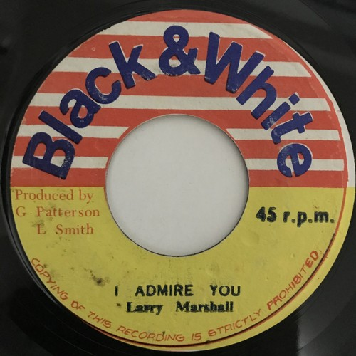 Larry Marshall - Admire You 【7-10830】