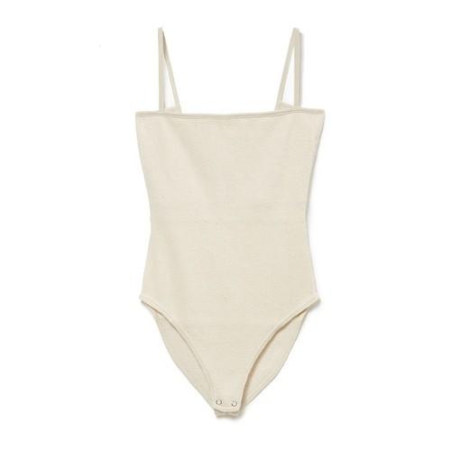 Honeycomb Body suit - ECRU
