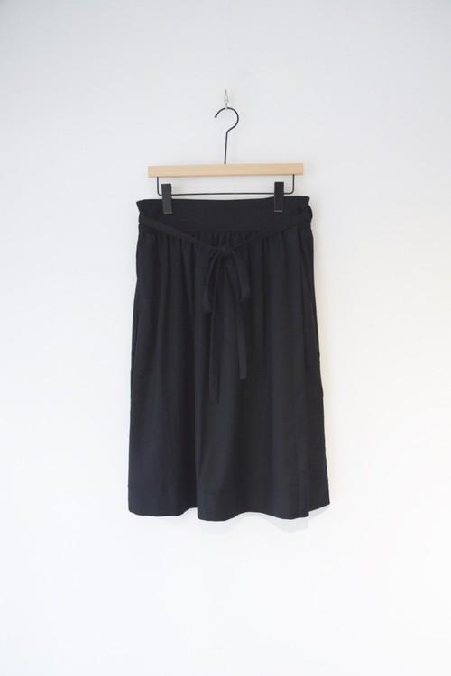 【ORDINARY FITS】APLON SKIRT wool/OF-K003