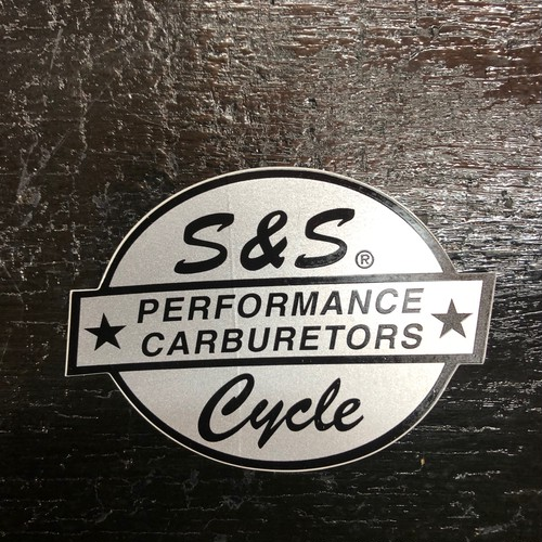 S&S Cycle PERFORMANCE CARBURETORS Vintage Sticker