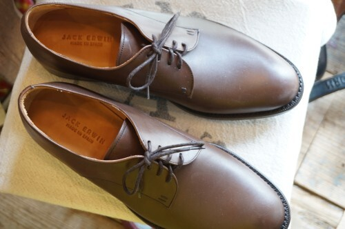 JACK ERWIN blucher plain-toe dress Shoes