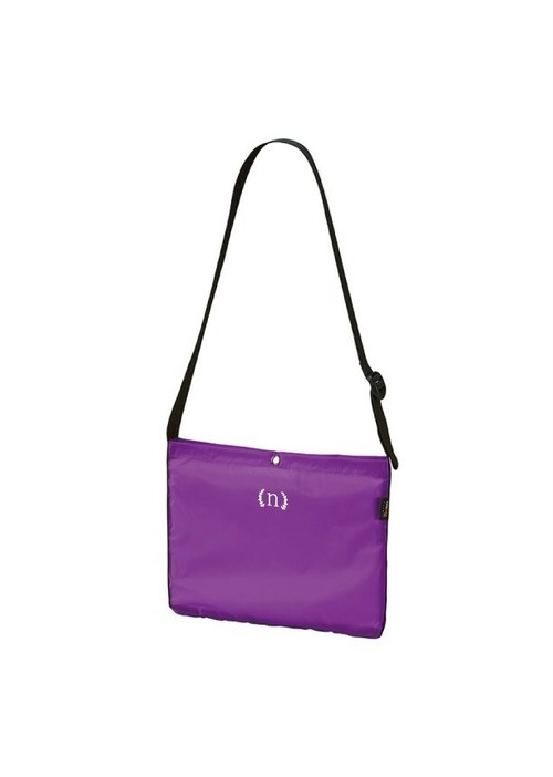 purple sacoche
