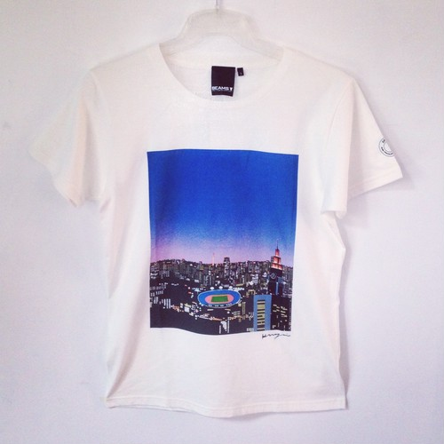 OFF THE BALL × BEAMS T-SHIRT