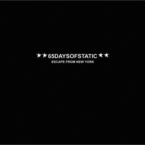 【65daysofstatic】CD escpae from new york
