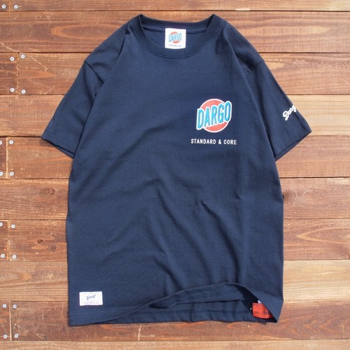 "【DARGO】 ""Trade Mark"" T-shirt (NAVY)"