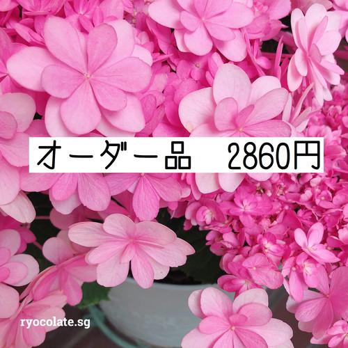 オーダー品 2860円