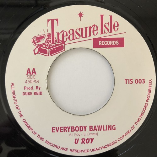 Melodians - Everybody Bawling【7-20689】