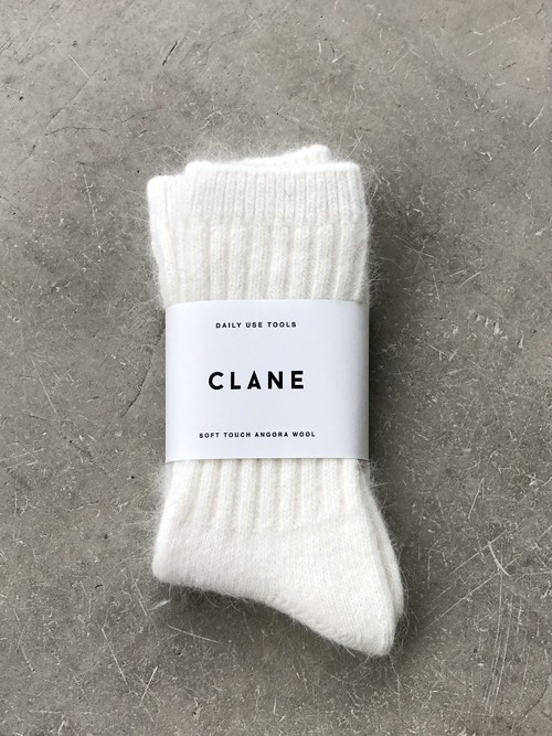 【20AW】CLANE クラネ / WOOL SOCKS