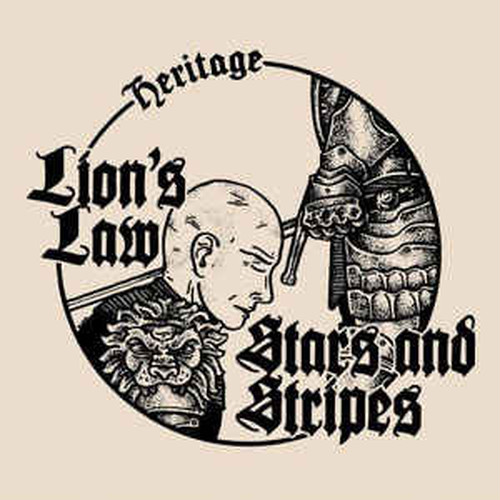 "LION'S LAW // STARS AND ATRIPES - Heritage 7""EP"