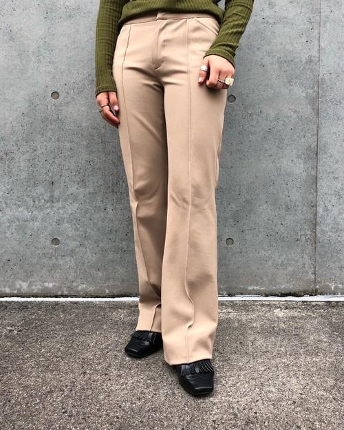 (PAL) center press flare pants