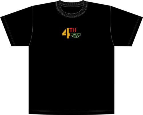 "4THCoast Yella ""Embroidered shirt"" Black"