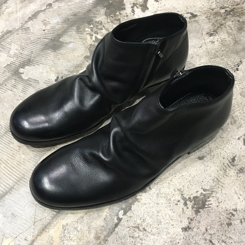【PADRONE】SHORT SIDE JIP BOOTS
