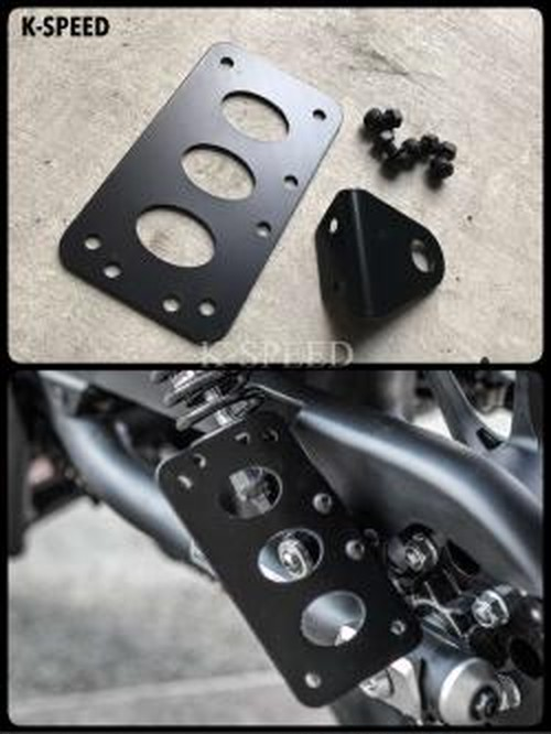 【RB0011】Licese plate /beside For Rebel300(JP250)&500