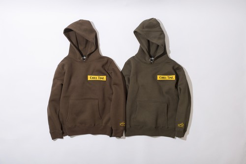 CHILL TIME HOODY SWEAT (SIZE 150CM)
