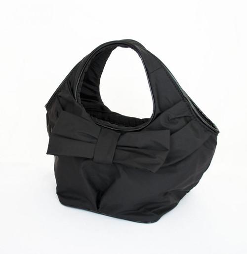 リボン付きBAG Sサイズ(ブラック)