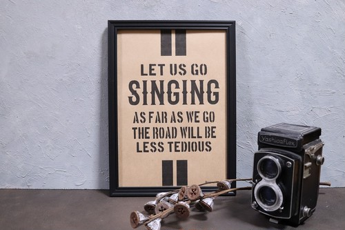 【A6】 SINGING
