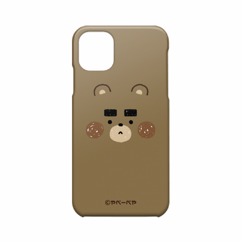iPhone11ケース(おかお)