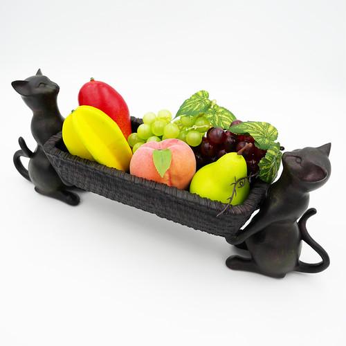 猫バスケット(双猫)