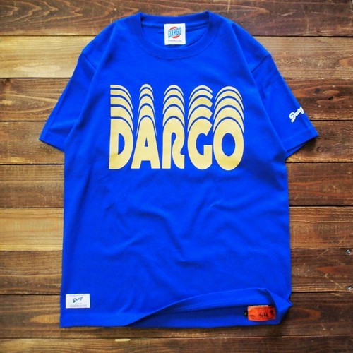 "【DARGO】""Moving Logo"" T-shirt (LOYAL BLUE)"