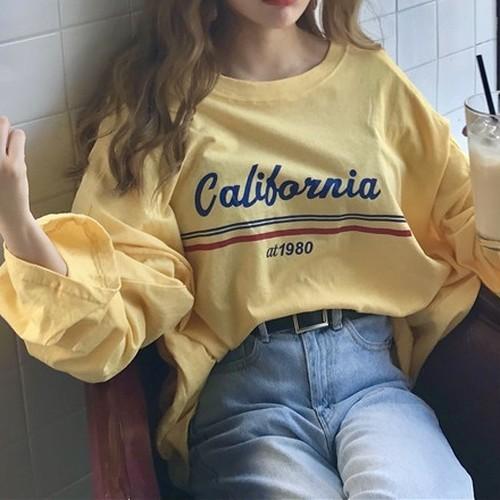 【お取り寄せ商品】シンプルデザインTシャツ 7025
