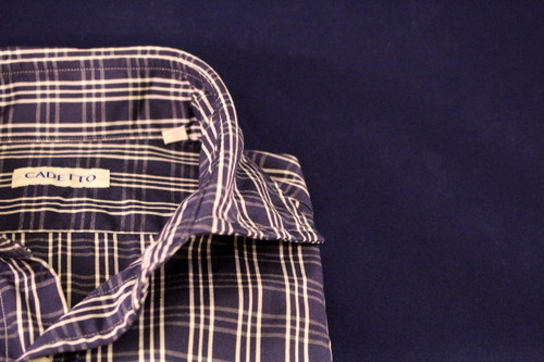 CADETTO ORIGINALS SHIRTS Navy Check