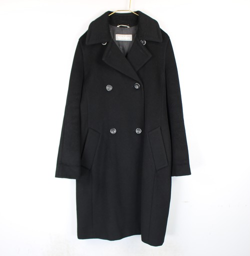 .MAX MARA CASHMERE BREND WOOL OVER COAT MADE IN ITALY/マックスマーラカシミヤ混ウールオーバーコート 2000000042664