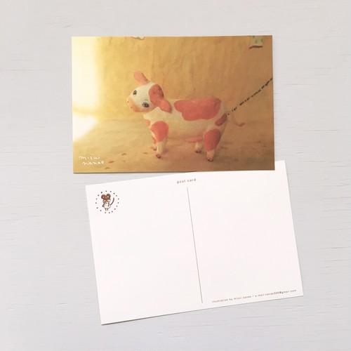 ポストカード(うし)