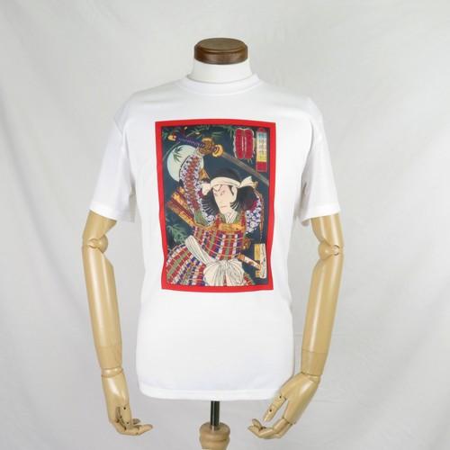錦絵・明智光秀デザインTシャツ