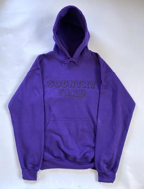 Block Hoodie purple