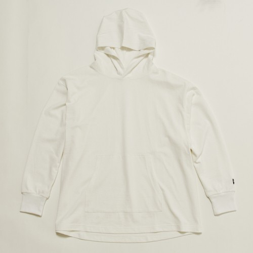 FAT L/S HOODIE - WHITE