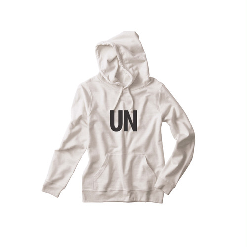 UNFUDGE PullParka / Printdesign : UN / Color : oatmeal