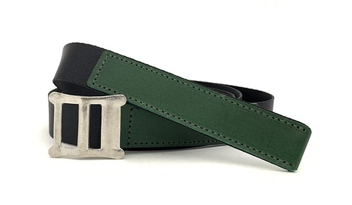 RE.ACT Buttero x Nylon Combi Belt Green