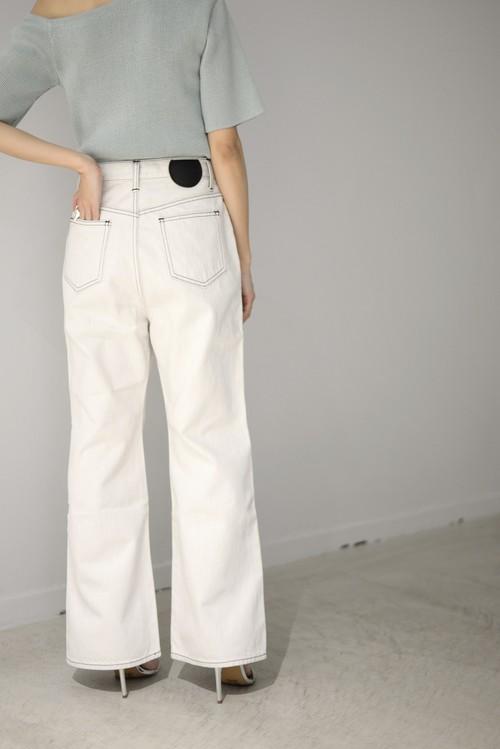 BELPER / FLARED DENIM PANTS