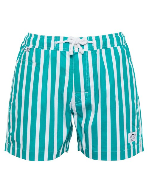 SUNS PLANE STRIPE SWIM SHORTS[RSW032]