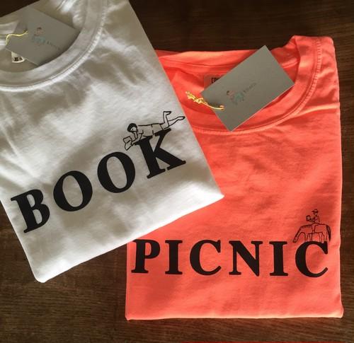 PICNIC Tシャツ 蛍光オレンジ