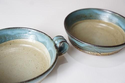 泥彩スープカップ2客セット