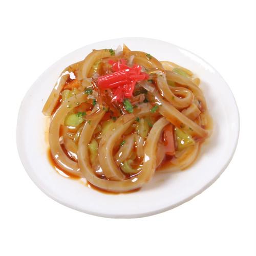 [0547]食品サンプル屋さんのマグネット(焼きうどん)【メール便不可】