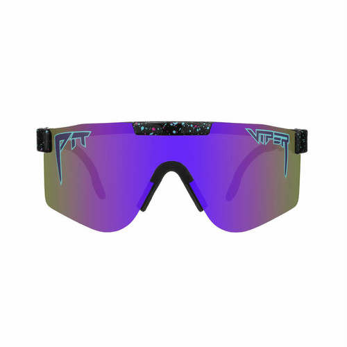 PIT VIPER - THE NIGHT FALL POLARIZED  / Purple Revo Mirror(偏光レンズ)  / DOUBLE WIDE