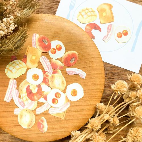 【パン作品】おいしいパンの朝食セット