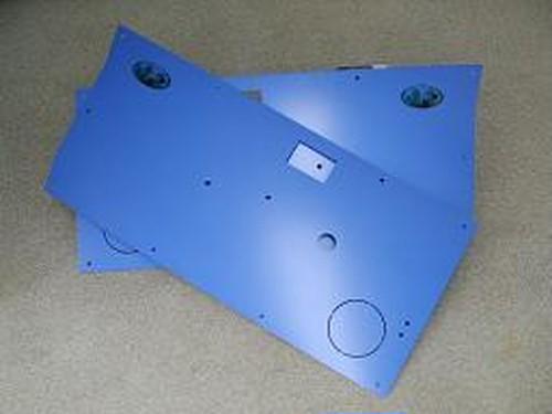 ジムニードア内張り左右セットフロント用アルミ製・ブルー【SJ30・JA71・JA11・JA12・JA22】