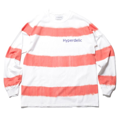 Black Weirdos Tie Dye Border T-Sh(White)